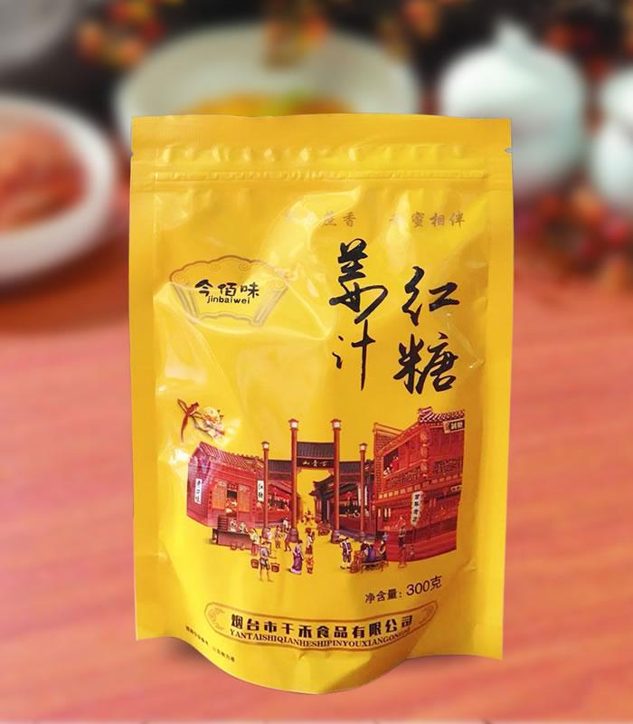 300G今佰味姜汁红糖